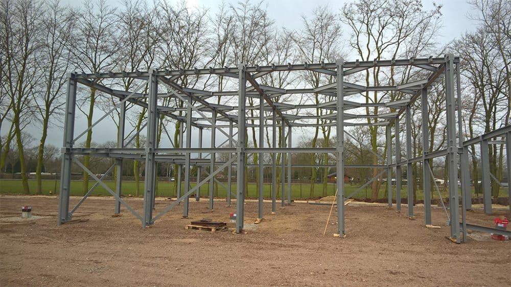 voorbeeld kaal staalconstructie project 2