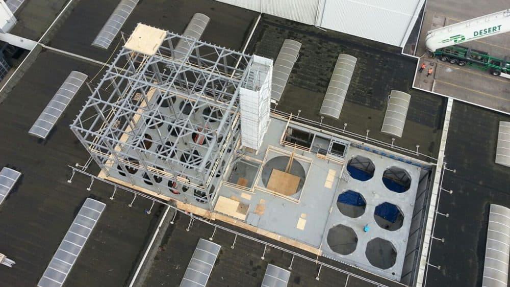 voorbeeld kaal staalconstructie project 6